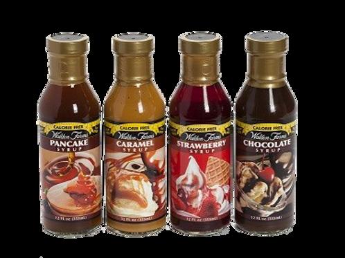Syrup Walden Farms 0 Calorias 0 Azúcar 0 Carbs