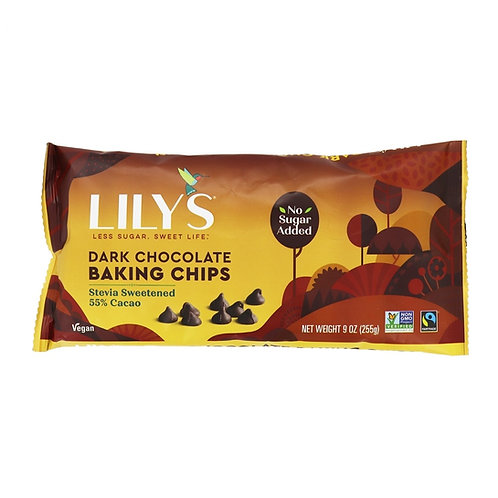 Lily´s Chips de Chocolate Oscuro con Stevia