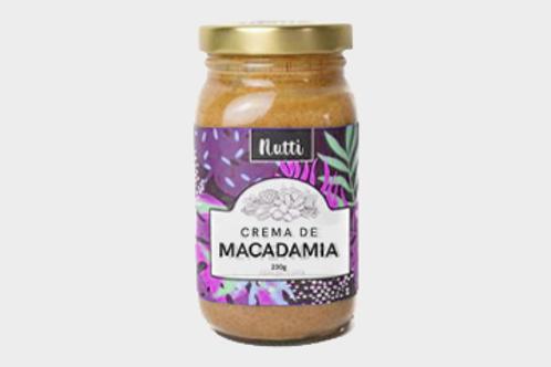 Crema de Macadamia Nutti 240g