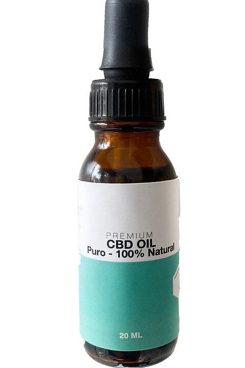 CBD premium Gotas 20 ml Cbd Oil - puro y natural