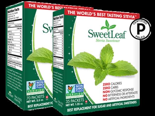 SweetLeaf® Stevia 35 Paquetes