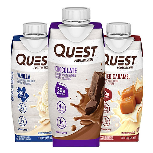 Bebidas Malteadas Quest 325 ml