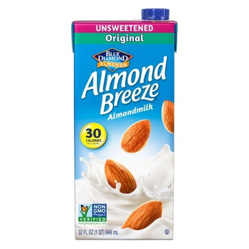 Leche Almendras Almond Breeze 946 ml