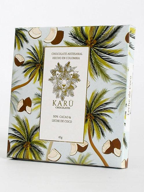 Chocolate Vegano 50% Vegano Azúcar de Coco