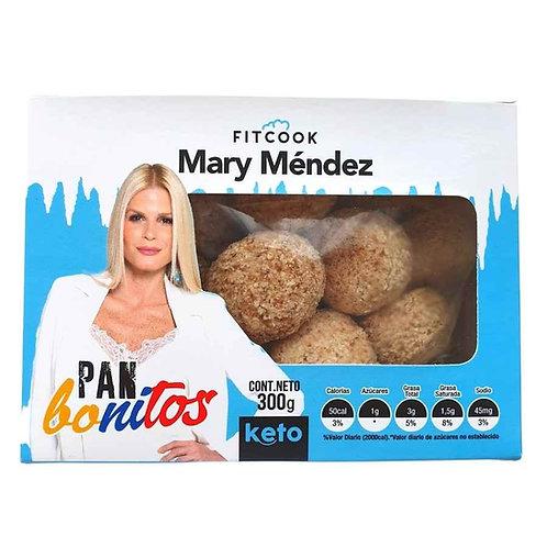 Pan Bonitos Fitcook Mary Mendez x 300 g