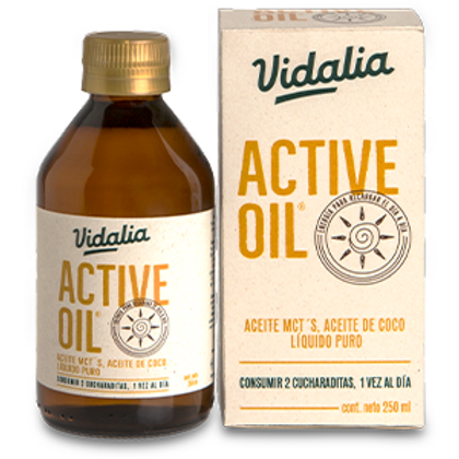ACTIVE OIL® 250 ml Mct Oil Vidalia