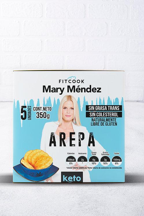 Keto Arepa Fitcook Mary Mendez 5 unidades