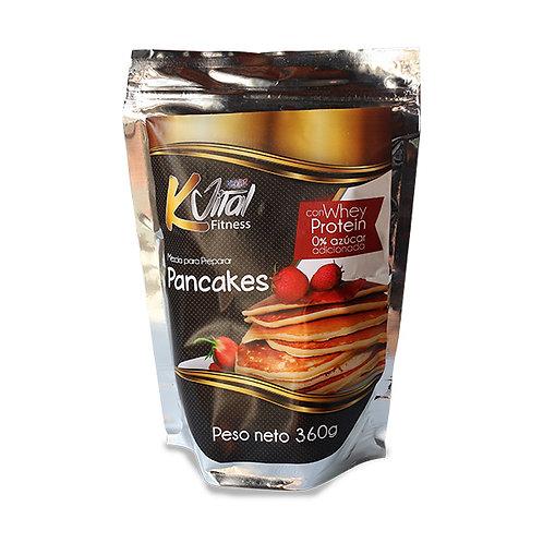 Pancakes Kvital sin azúcar adicionada x360g
