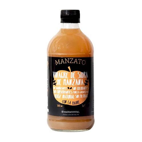Vinagre de sidra de manzana Manzato 500 ml