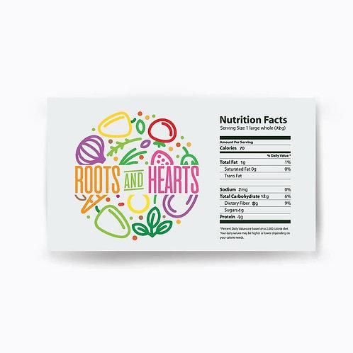 Hamburguesa Vegana Roots & Hearts 8 Unidades