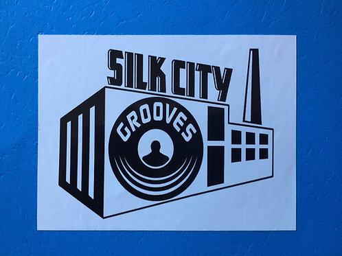 SILK CITY GROOVES STICKER