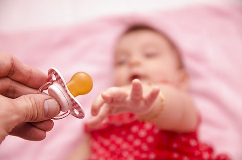 Asking for Pacifier