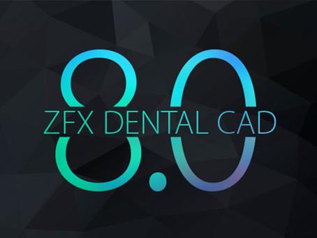 Mise à jour Zfx Dental CAD 8.0
