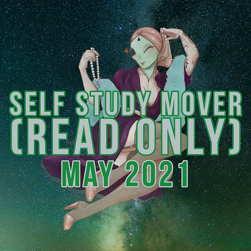 Self Study Mover (Read Only) - May 2021