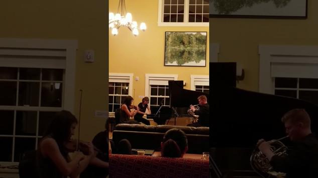 Ligeti Horn Trio - Mvt. IV
