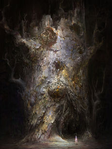 Luminous Growth in a Dark Unknown