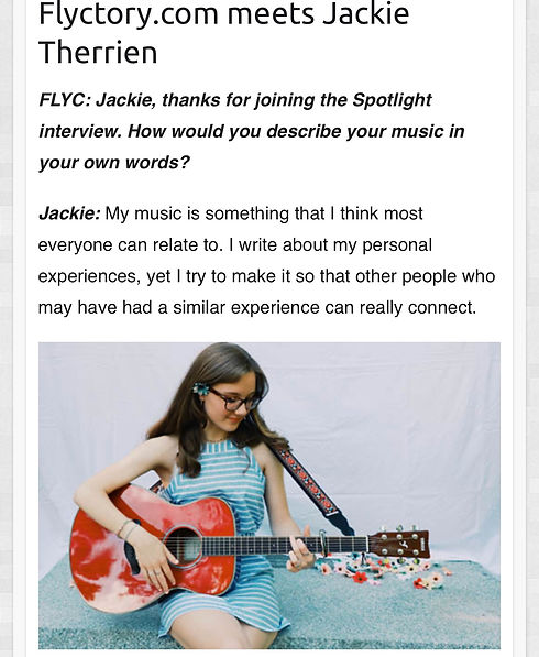Spotlight - Flyctory.com meets Jackie Th