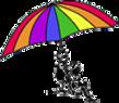 MCCDC Logo - 2Children holding Rainbow colored umbrella
