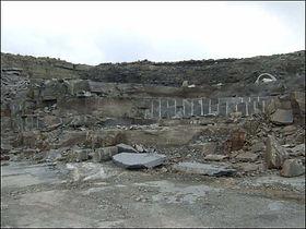 grey sandstone quarry ireland 1