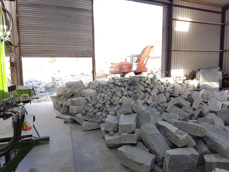 grey granite production ireland