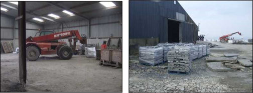 grey sandstone production ireland 1