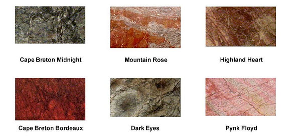 marble color range east coast canada