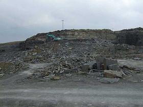 grey sandstone quarry ireland 4