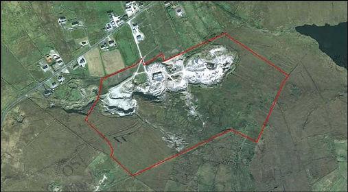 grey sandstone quarry ireland 2