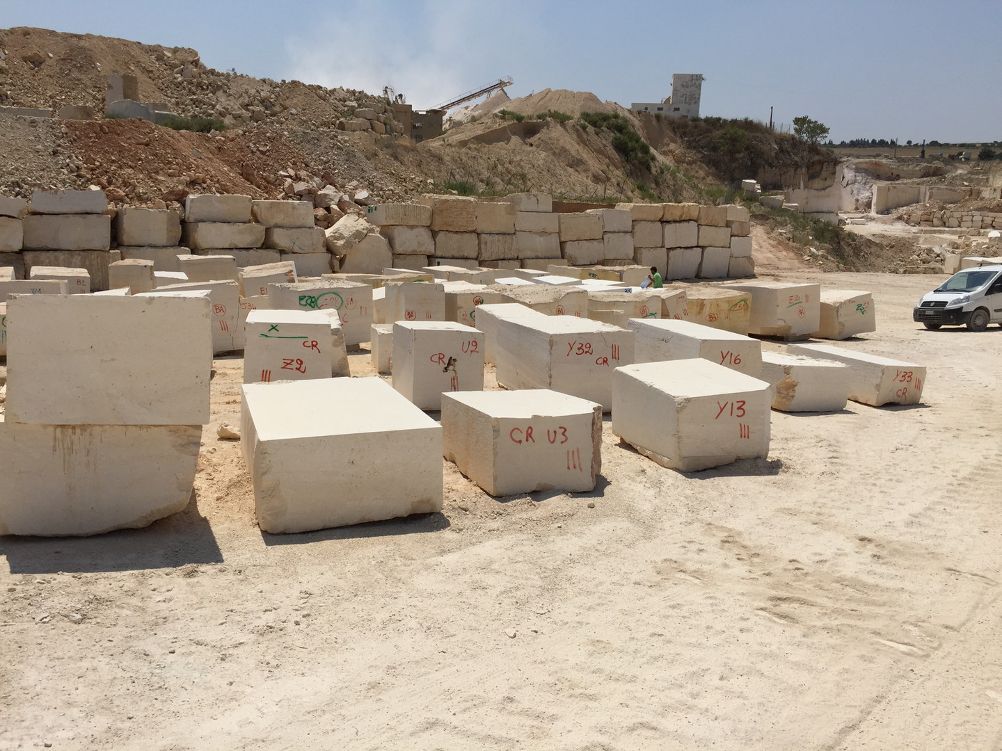 Quarry -block storage