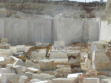 Quarry in operation