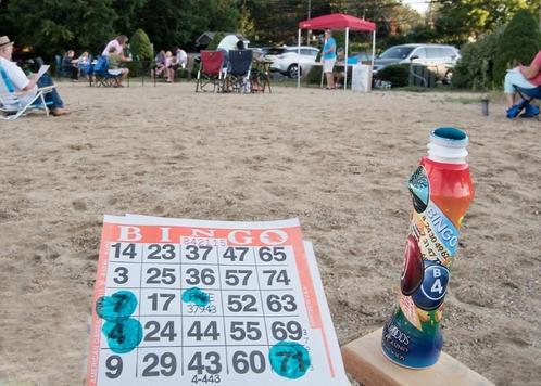 Beach Bingo last Tuesdays of month 7/2, 7/27 and 8/31