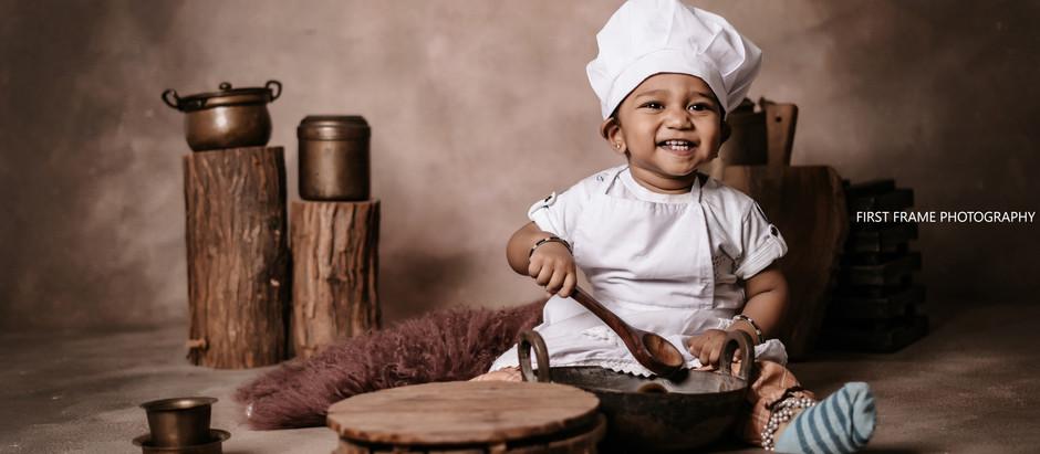 Pratyush Portraits with themed Props