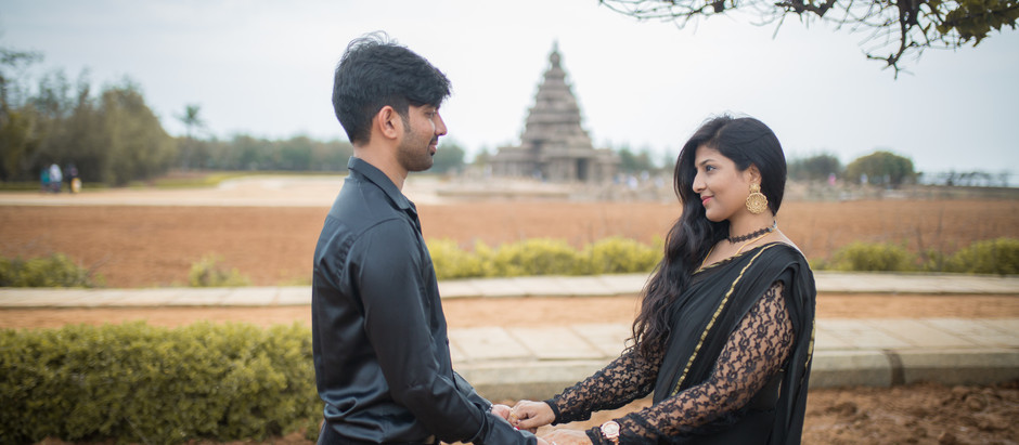 Varun + Nisha Couple shoot at Pondicherry