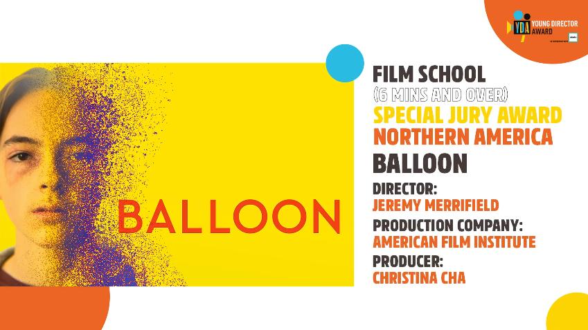 Jonah Beres - BALLOON Wins Jury Award Cannes Lions