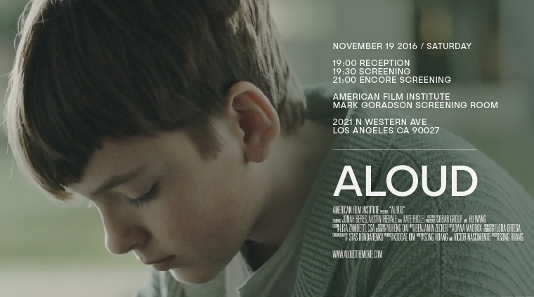 Jonah Beres ALOUD official movie poster
