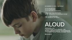 Jonah Beres ALOUD official movie poster