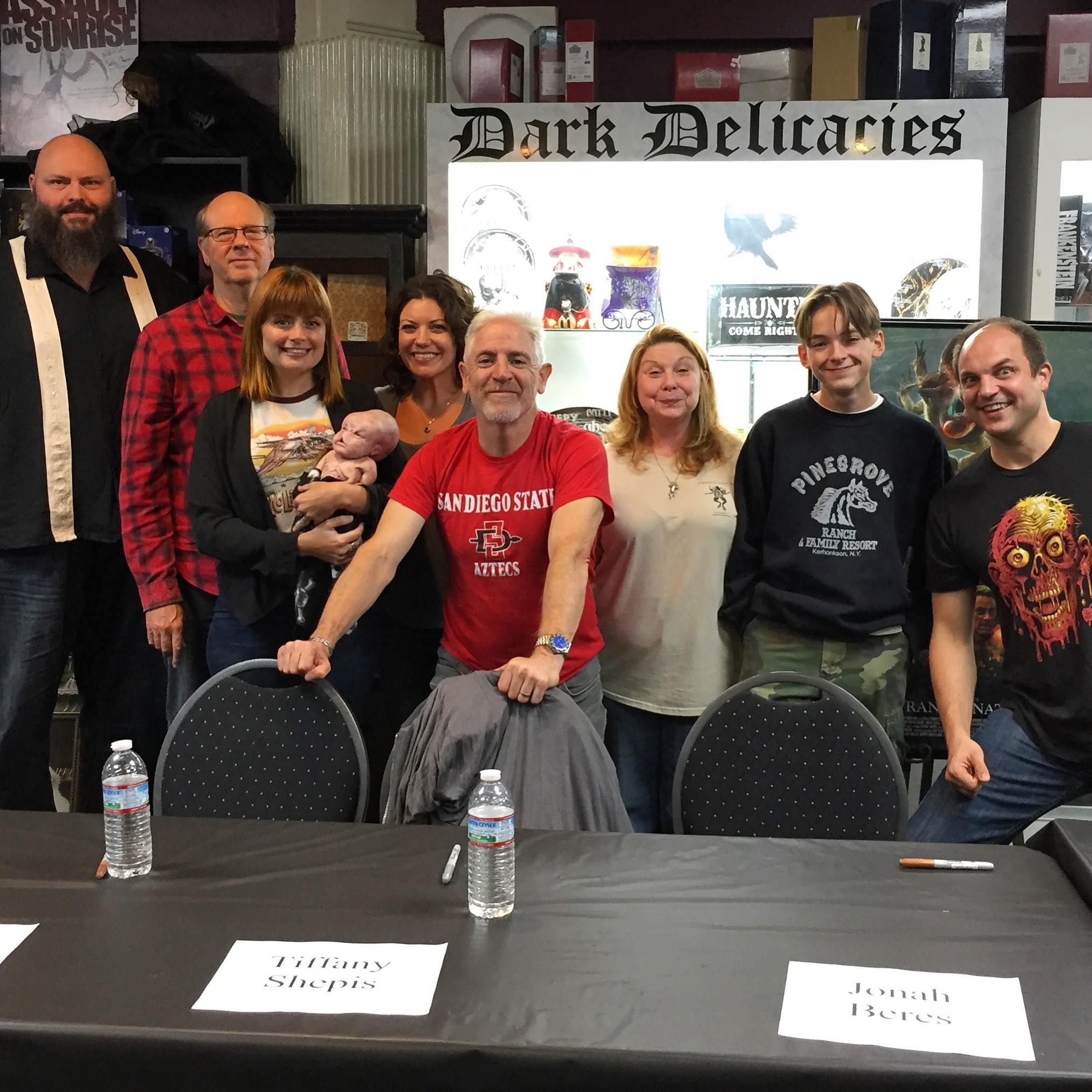 "Jonah Beres DVD signing for ""Strange Nature"" at Dark Delicacies Halloween 2018"