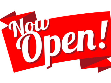 We are 100% OPEN!