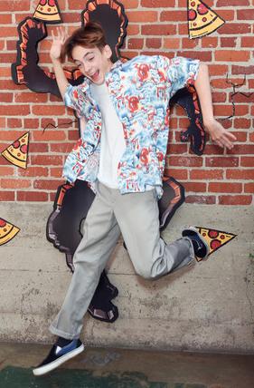 Pizzahut's ComicCon wall 2019