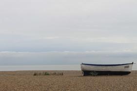 Boat on Pebble Beach