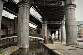 Castlefield Viaduct from Below