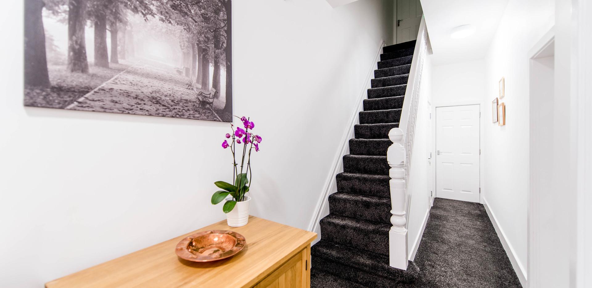 Hallway at 13 Rochdale Road