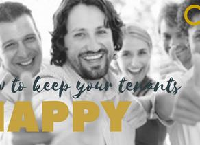 5 Ways to Keep Your Tenants Happy