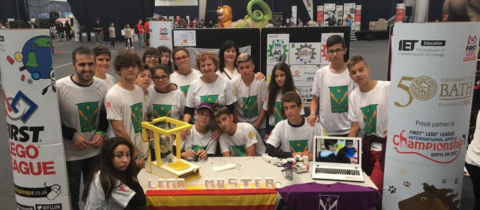 Experiencia equipo Lego Masters – FLL Tgn-Reus en el IOC de Bath