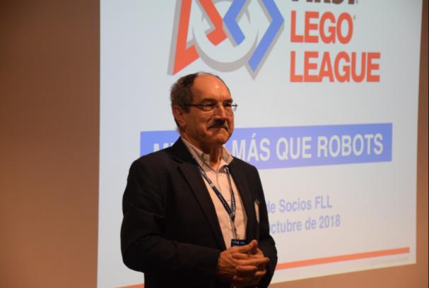Pedro Mier, embajador del Desafío INTO ORBIT