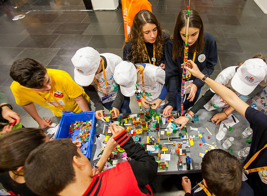 La COOPERTICIÓN en FIRST LEGO League