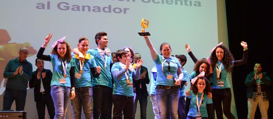 Protagonistas FIRST LEGO League: el equipo Alyanub B de Almería