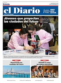 El Diario FIRST LEGO League 2020, City Shaper