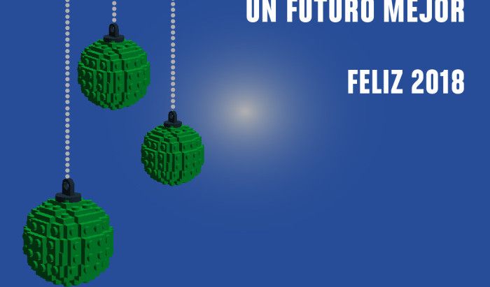 ¡FELIZ 2018! |FIRST LEGO League