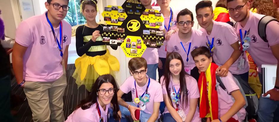 Equipo FIRST LEGO League Invictus Lego en el Asia Pacific Championship